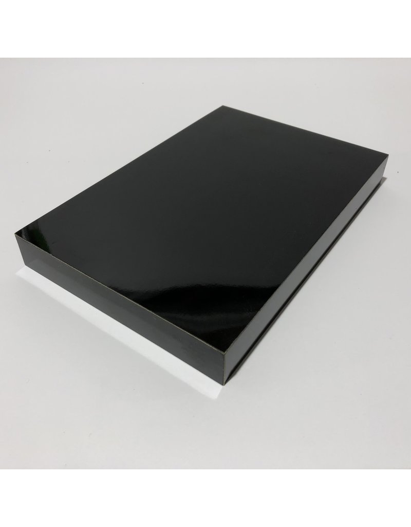 Just Sculpt Formica Base 9x6x1 Gloss Black