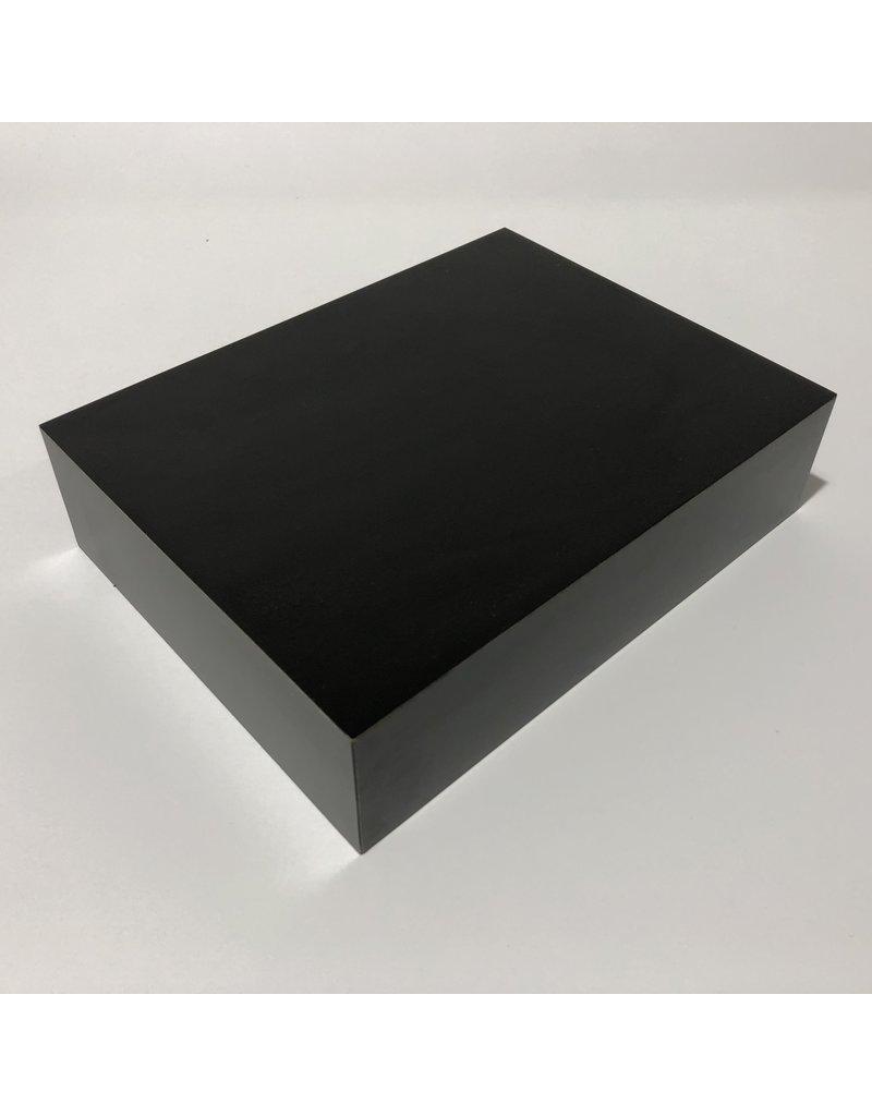Just Sculpt Formica Base 8x6x2 Matte Black