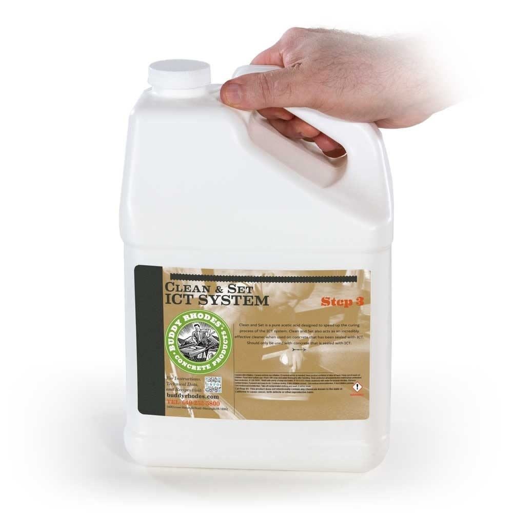 Buddy Rhodes ICT Clean and Set Gallon