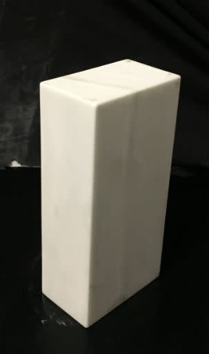 Just Sculpt Marble Base 10x4.75x3 White Carrara #991016