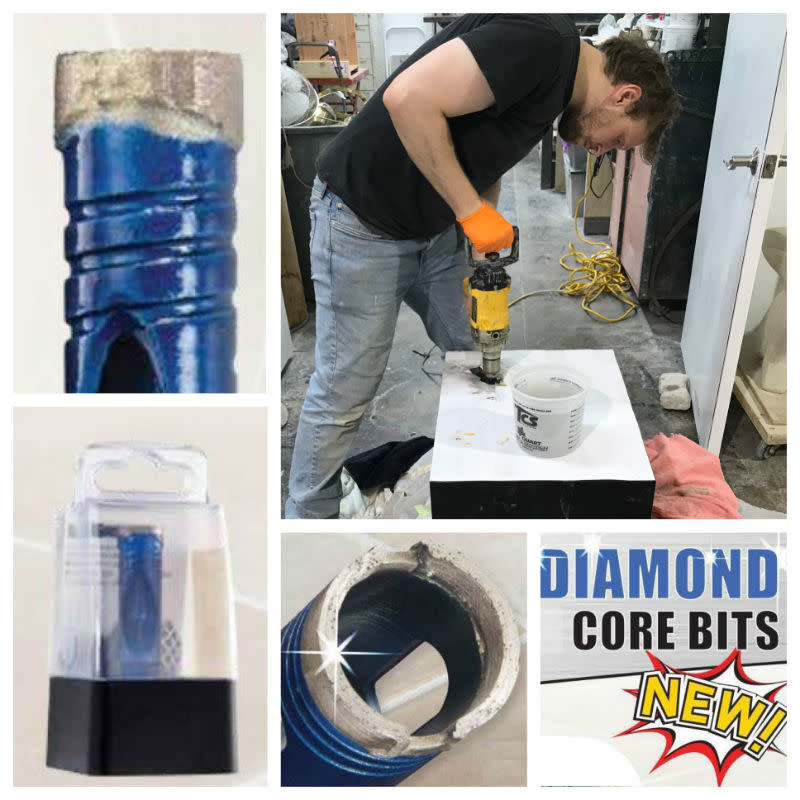 "ITM Blu Diamond Bit 1/2"" Hex Shank 3/8"""