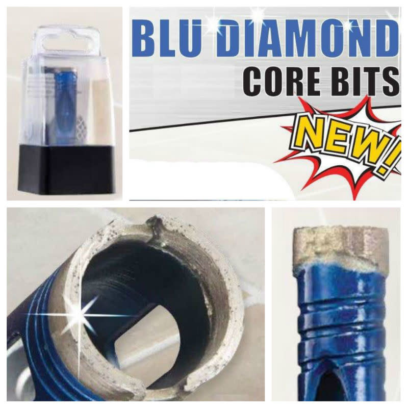 "ITM Blu Diamond Bit 1/4"" Hex Shank 3/8"""