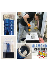 "ITM Blu Diamond Bit 3/4"" Hex Shank 3/8"""