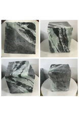 Stone Indian Gray/Green Soapstone 16lb Block 5x5x6 #011023