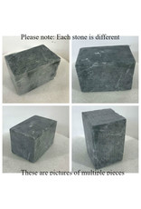 Stone Indian Gray Soapstone 35lb Block 6x6x9