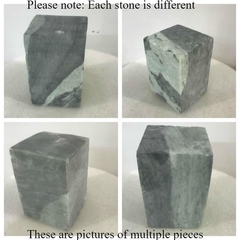 Stone Indian Gray/Green Soapstone 35lb Block 6x6x9