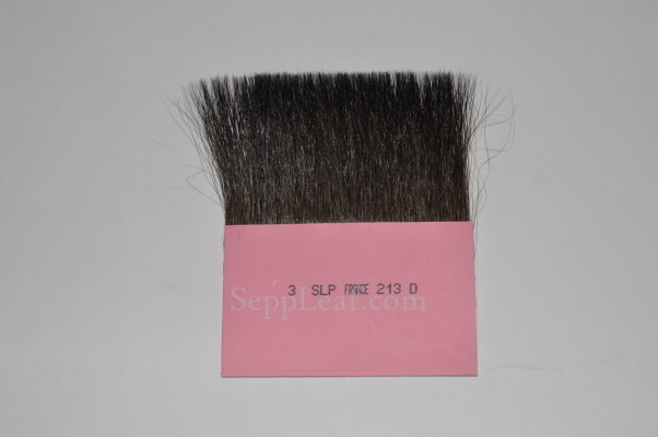 """Sepp Leaf S.L.P. Gilders Tip - Double- 3"""" width x 2"""" Length - Grey Talahuthy Squirrel Hair- French"""