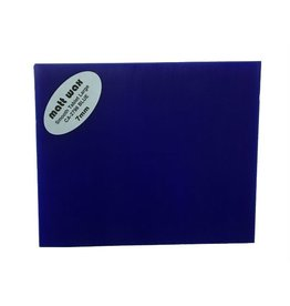 Du-Matt Wax Tablet Blue (190mmx165mmx7mm) 2 pack