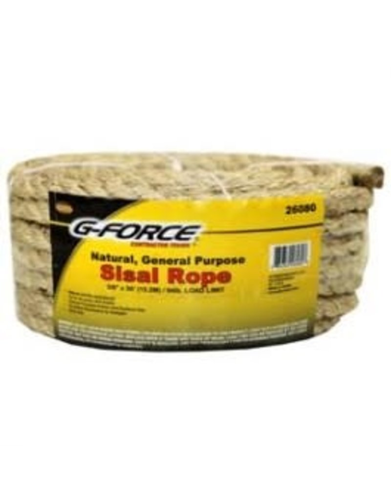 "Just Sculpt Twisted Sisal Rope 3/8"" x 50'"