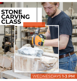 191200 Stone Carving Wednesday Afternoon Class December
