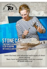 200100 Stone Carving Tuesday Evening Class January