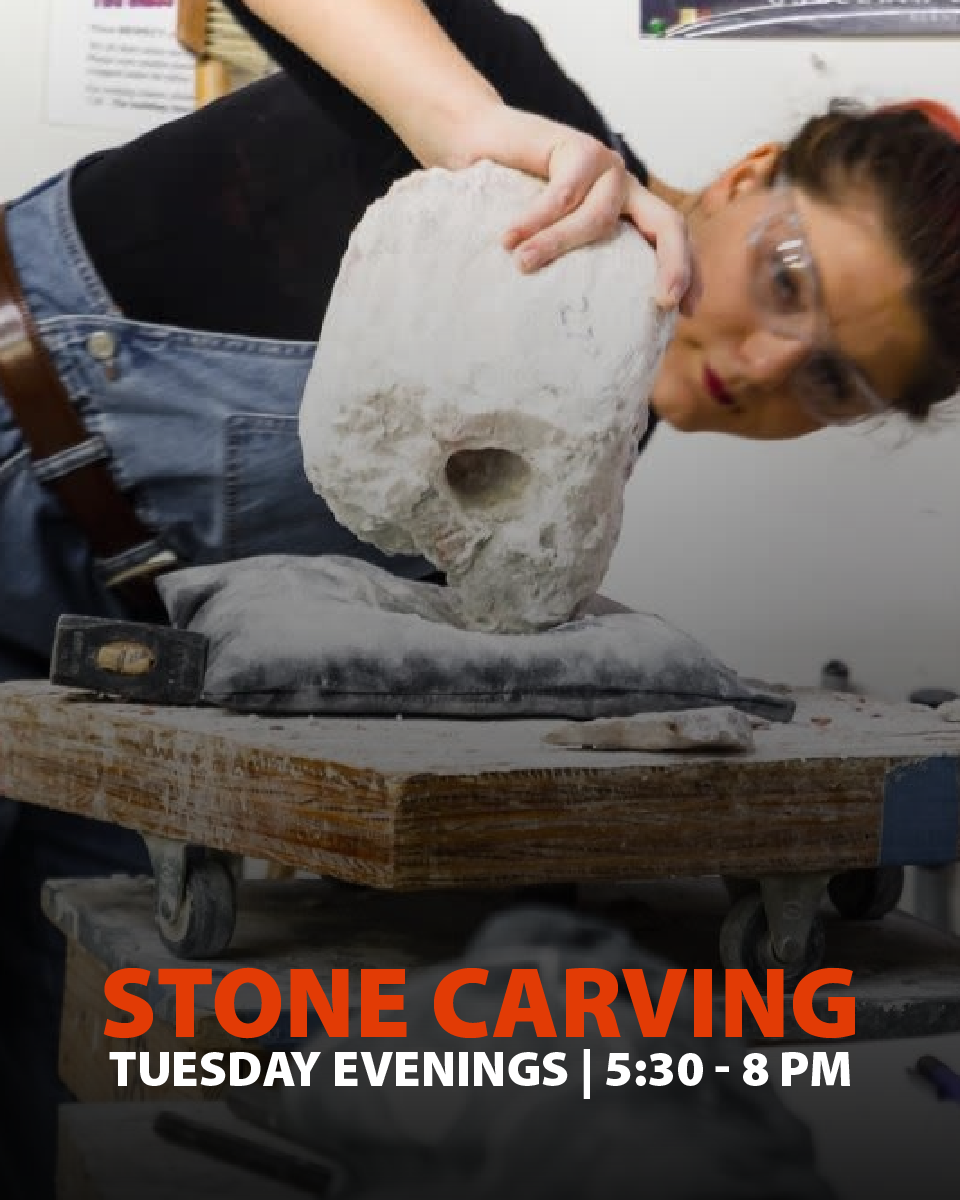 191200 Stone Carving Tuesday Evening Class December