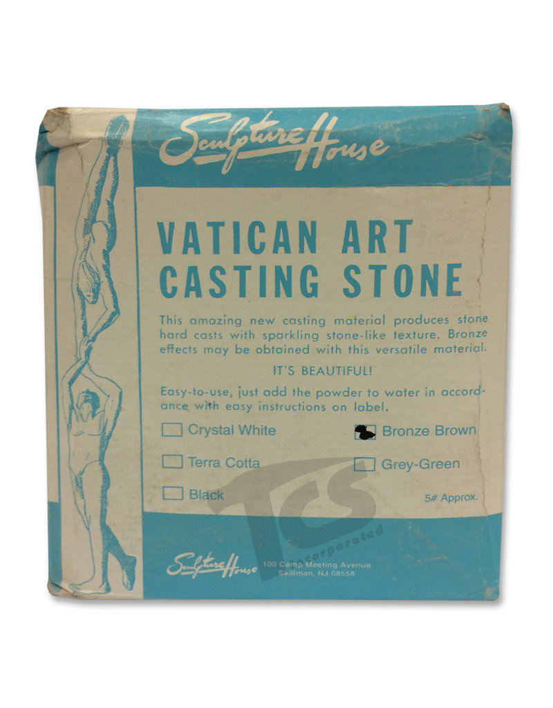 Sculpture House Vatican Stone Brown 5lb