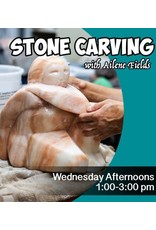 200100 Stone Carving Wednesday Afternoon Class January