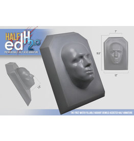 Monster Makers Plastic Half Ed Head Armature 2.0