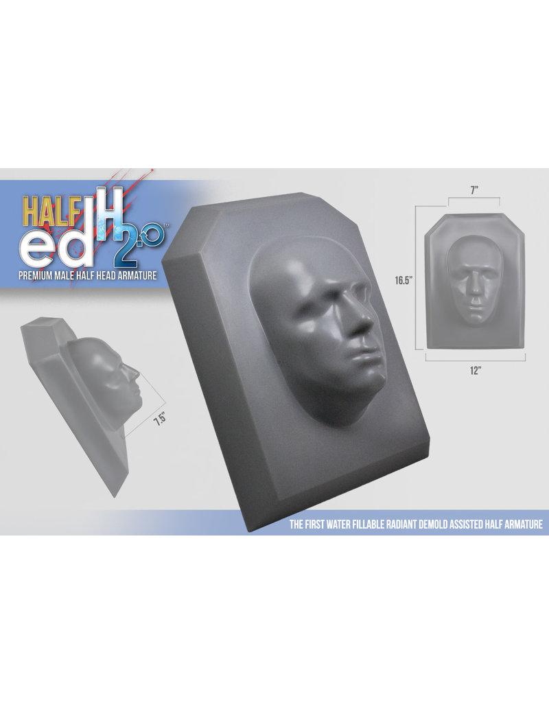 Monster Makers Plastic Half Ed Head Armature 2.0