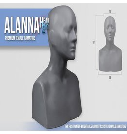 Monster Makers Plastic Alanna Head Armature 2.0