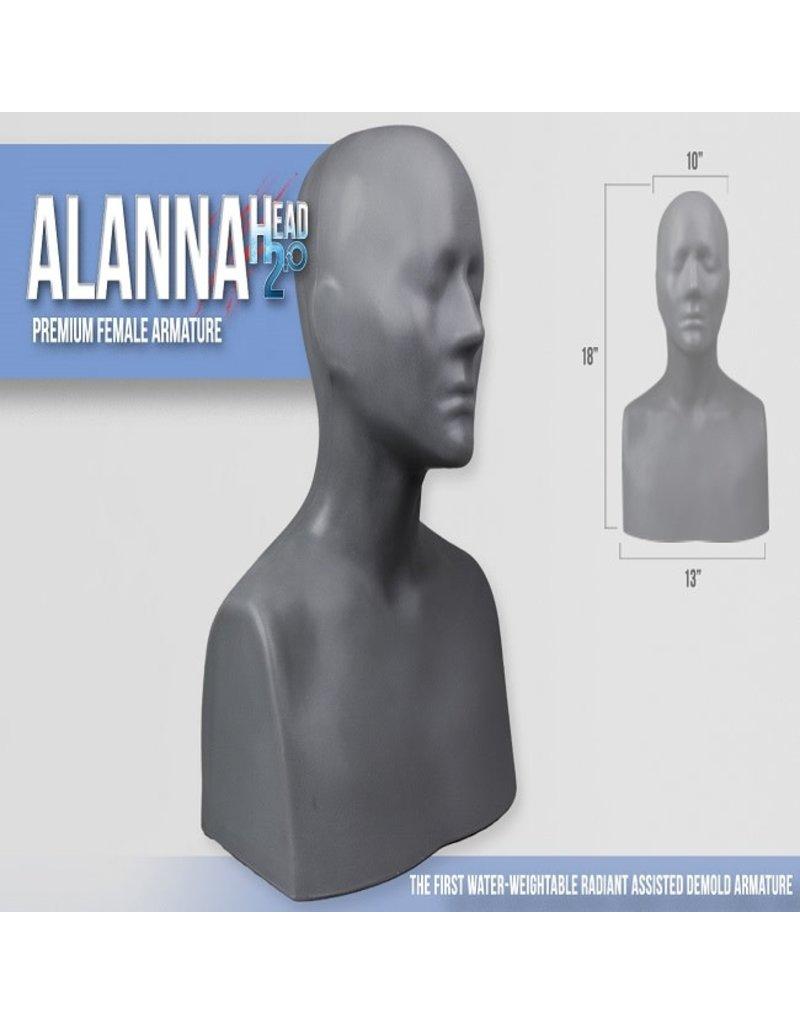 Monster Makers Plastic Alanna Head Armature 2.0