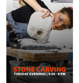200400 Stone Carving Tuesday Evening Class April