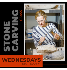 200200 Stone Carving Wednesday Evening Class February
