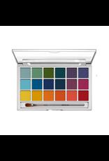 Kryolan Eye Shadow Variety Pallete 18 colors V-2