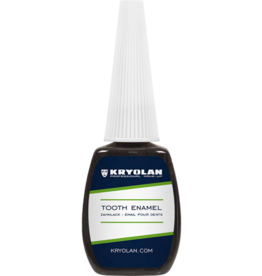 Kryolan Tooth Enamel Black 12ml