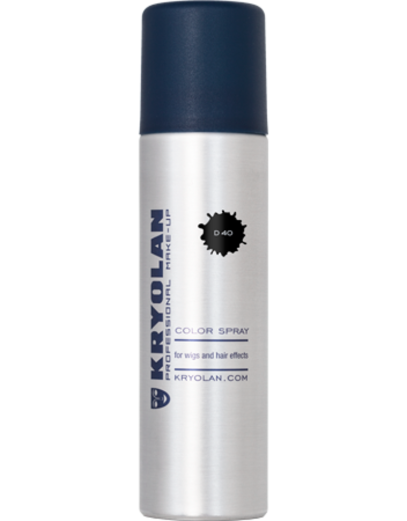 Kryolan Color Spray Black 150ml