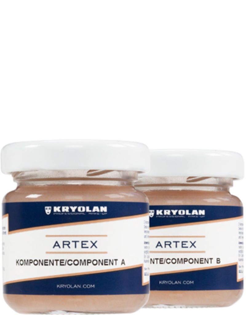 Kryolan Artex 80ml Silicone Kit
