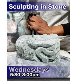200300 Stone Carving Wednesday Evening Class March