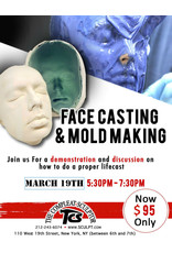 TCS Classes 200319 Face Casting & Mold Making Demo- March 19 2020
