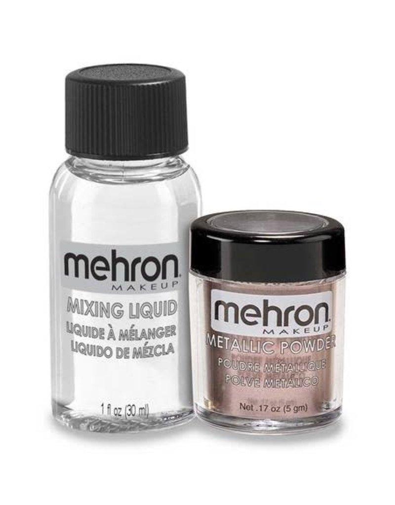 Mehron Metallic Powder with Mixing Liquid Lavender