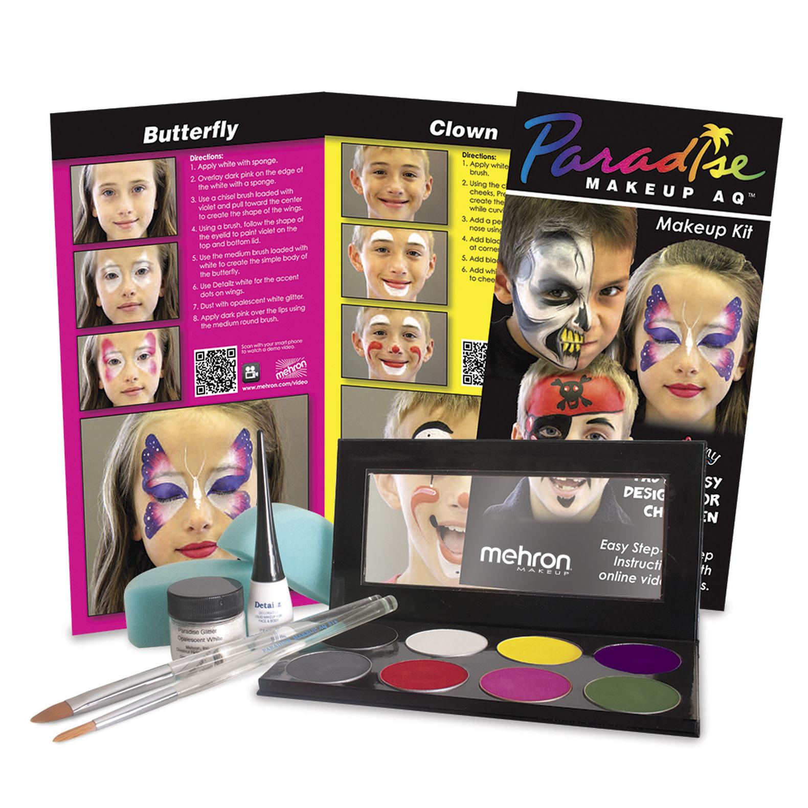 Mehron Paradise Face Painting - Premium Makeup Kit