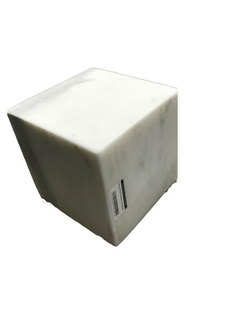 Stone Danby White Marble cube 6x6x6