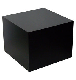 Just Sculpt Formica Base 6x6x6 Matte Black