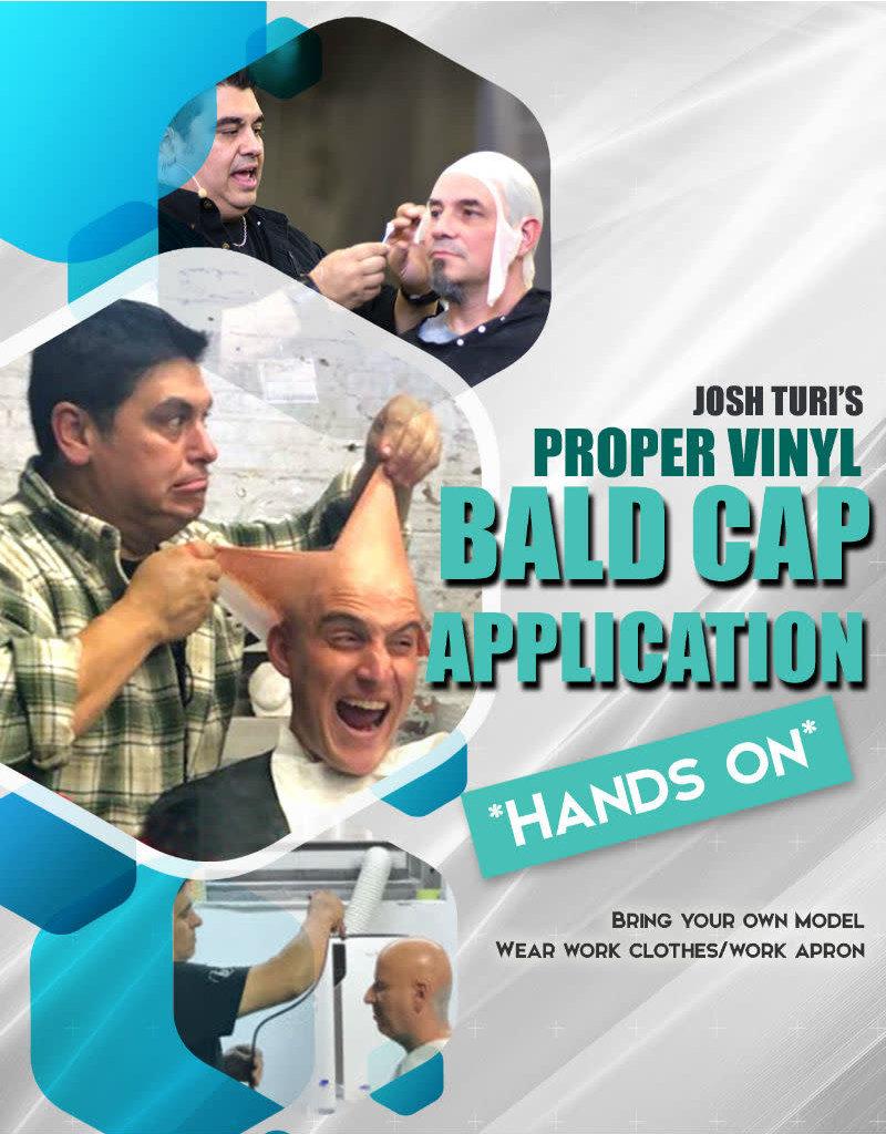 Designs To Deceive Proper Vinyl Bald cap application Hands-On JTM 11am-4pm