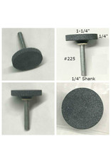 Norton Silicon Carbide Mounted Stone Disc #225 1-1/4x1/4 (1/4 shank) CU