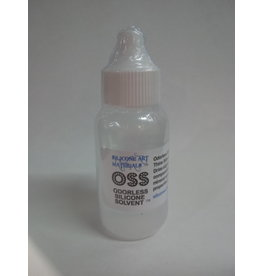 SAM OSS Odorless Silicone Solvent 1oz Dropper
