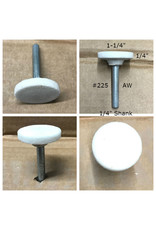 Norton Aluminum Oxide Mounted Stone AW #225 1-1/4x1/4 (1/4 shank)