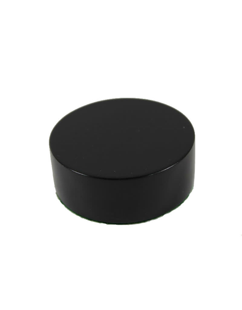 Just Sculpt Formica Base Round 5.5x2.5 Gloss Black
