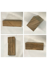 Wood ZebraWood Block 11.75x4.75x2