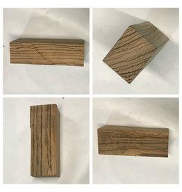Wood ZebraWood Block 11.75x4.75x2