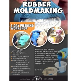TCS Classes 200515 Mold-Making Hands-On Intensive Workshop May 15-17