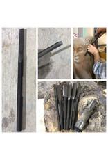 Milani Steel Pneumatic Wood Carving Gouge #3 12mm