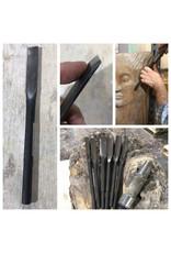 Milani Steel Pneumatic Wood Carving Gouge #3 19mm