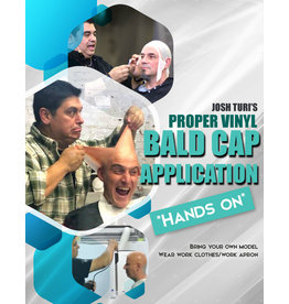 Designs To Deceive 200411 Proper Vinyl Bald cap application Hands-On JTM April 11th 11am-4pm