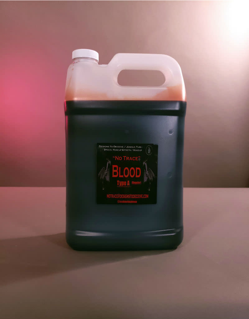 Designs To Deceive No Trace Blood A Light Gallon