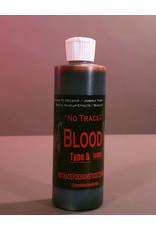 Designs To Deceive No Trace Blood B Dark 8oz