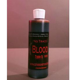 Designs To Deceive No Trace Blood B Dark Blood 8oz