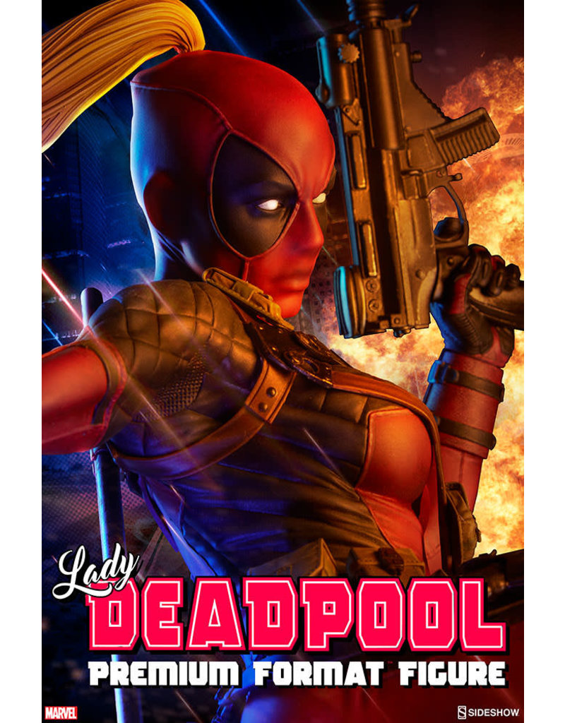 Sideshow Collectibles Lady Deadpool Premium Format™ Figure