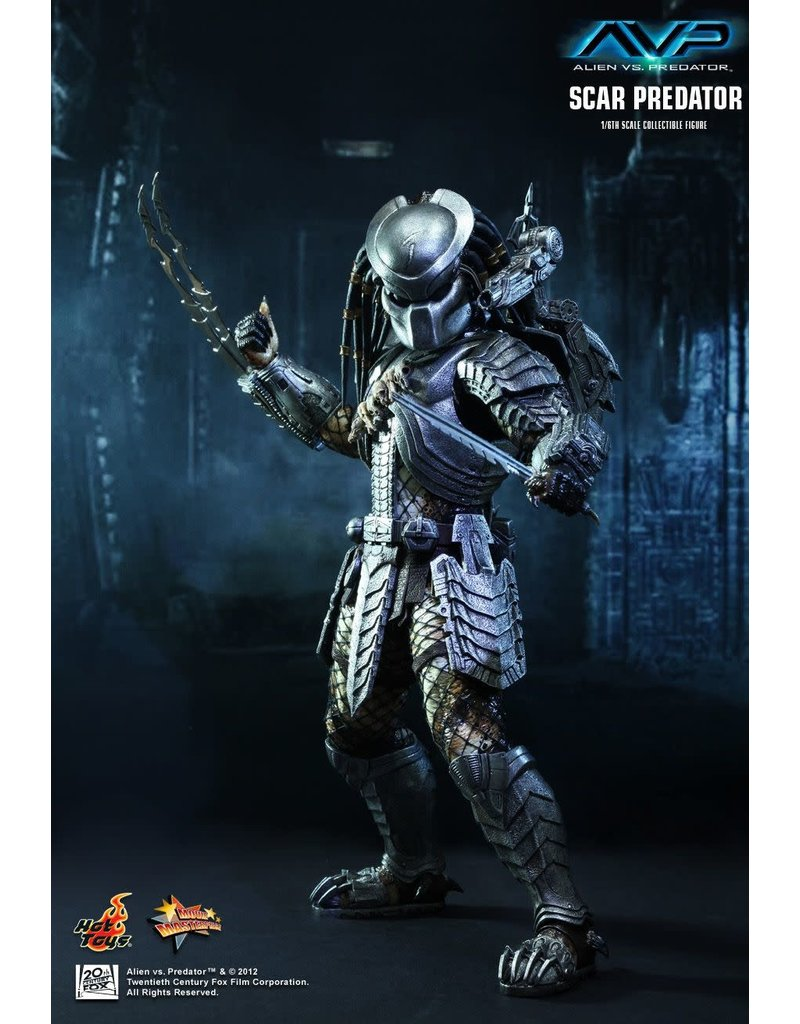 Sideshow Collectibles Scar Predator Hot Toys Statue